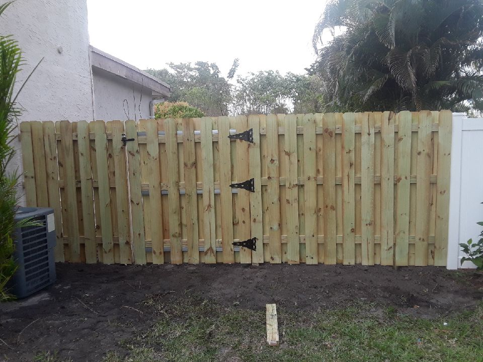 Wood Fence Installation in New Orleans LA