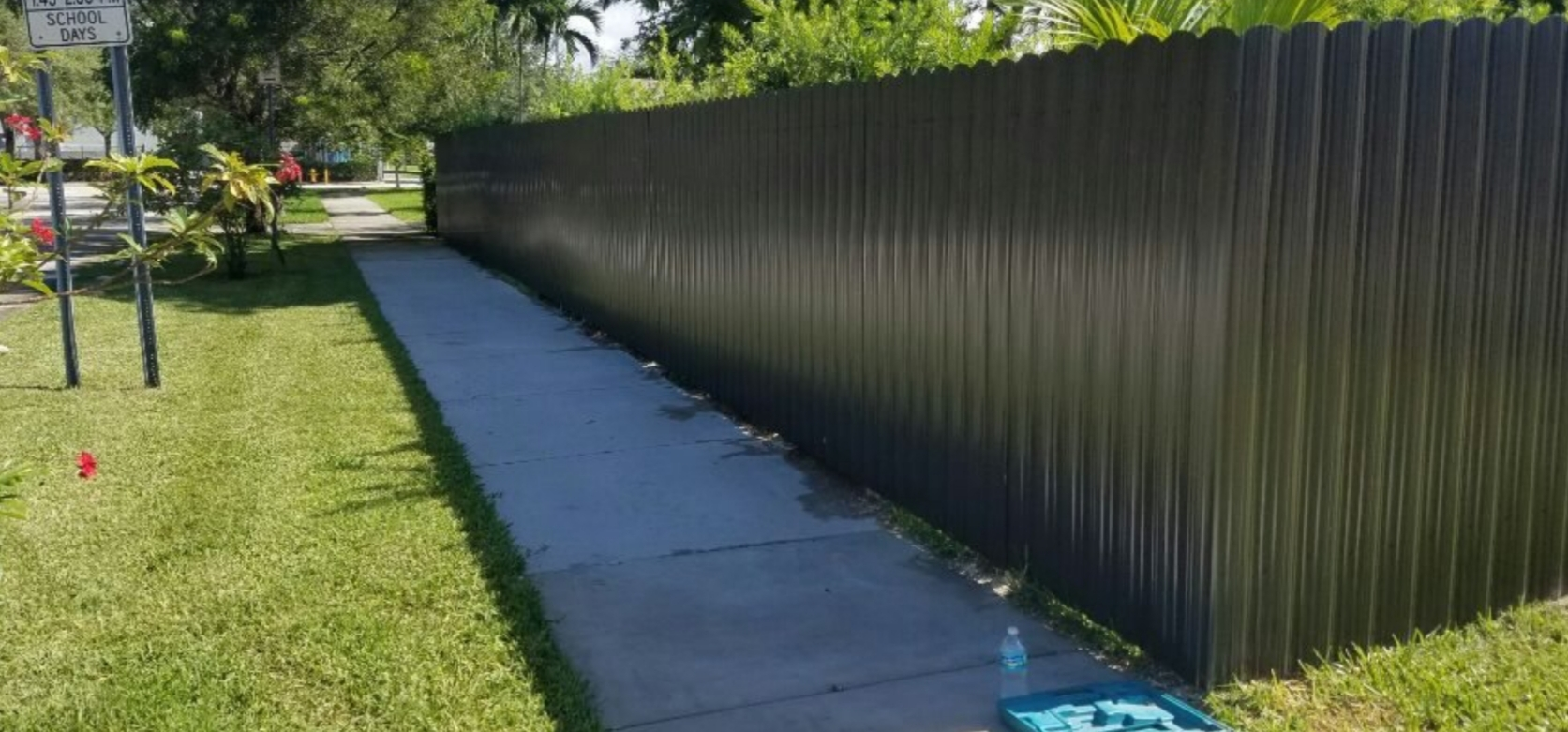 Aluminum Fence Installation in New Orleans