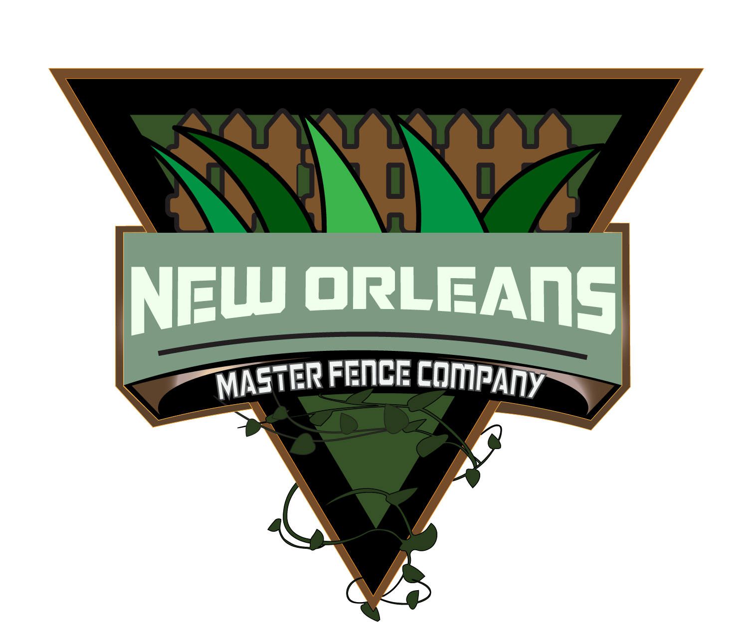 Master New Orleans Fence Company Logo